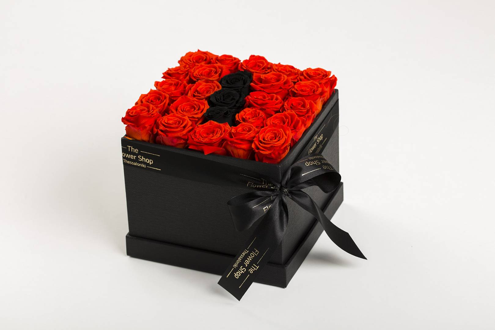 Flower Box With Forever Roses