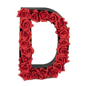 D FLOWER BOX WITH FOAM ROSES