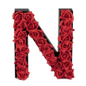 N FLOWER BOX WITH FOAM ROSES
