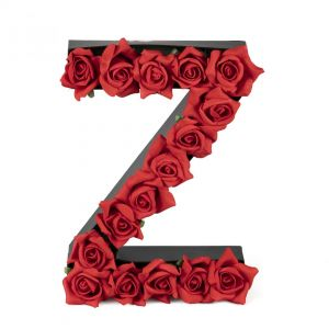 Z FLOWER BOX WITH FOAM ROSES